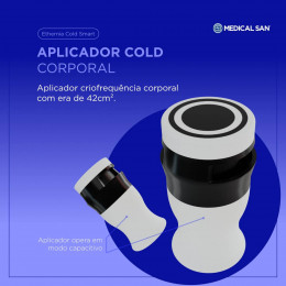 Aplicador Cold Corporal para Ethernia Cold Smart - Medical San
