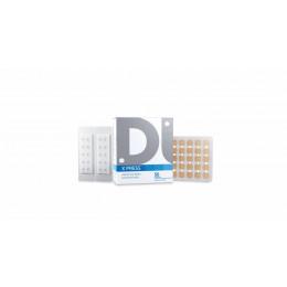 X Press - Agulha Para Acupuntura Auricular - Micropore Quadrado - 0,18x1,5
